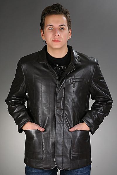 Кожаная куртка Hermes