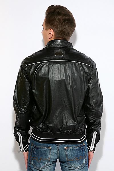 Кожаные куртки dolce gabbana