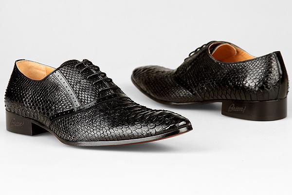 Туфли-змея Brioni