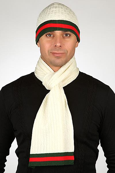Шарф и шапка Gucci