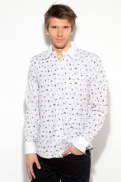 Рубашка Dirk Bikkembergs