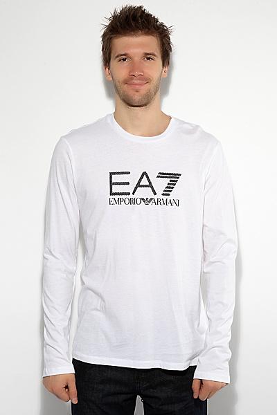 Футболка с длинным рукавом EA7