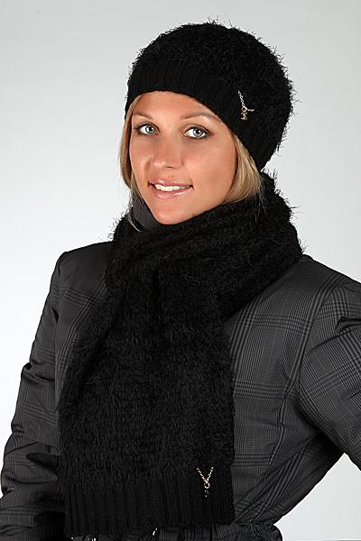 Шапка и шарф Chanel