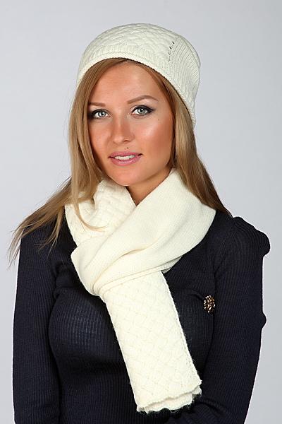 Шапка и шарф Bottega Veneta