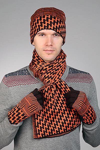 Шапка и шарф Hermes