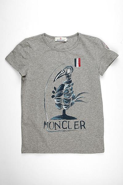 Детская футболка Moncler