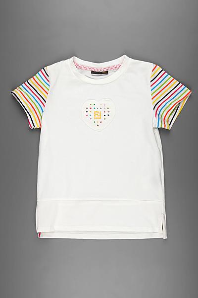 Детская футболка Fendi