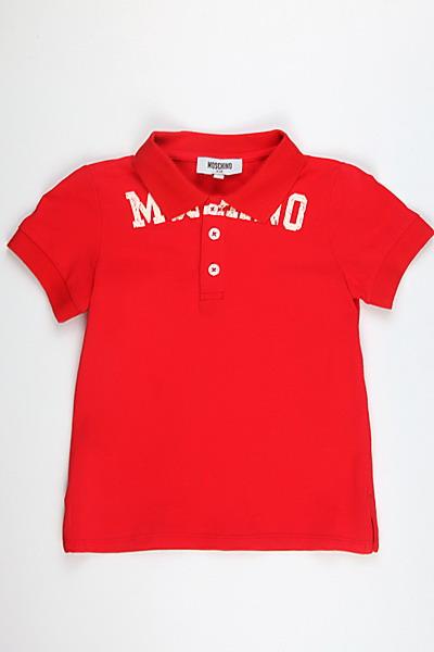 Детское поло Moschino